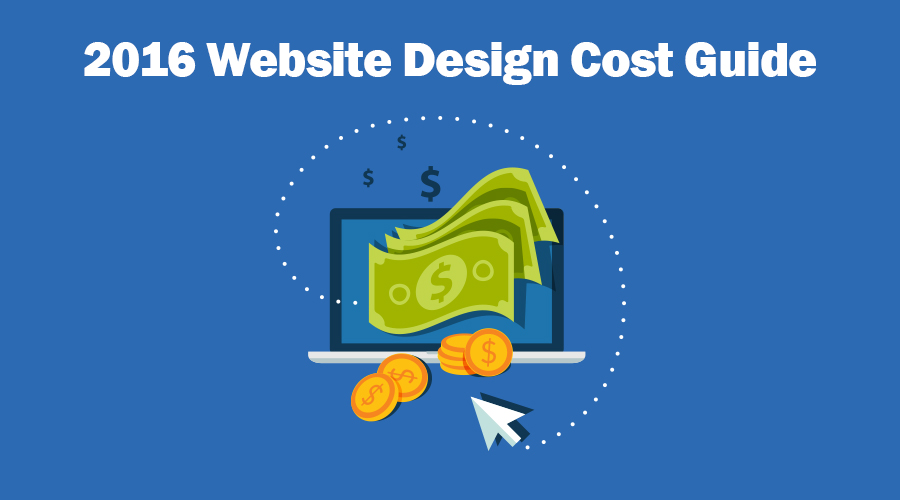 2016 website design cost guide