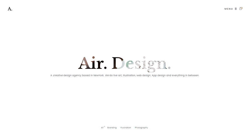 air wordpress theme 2017