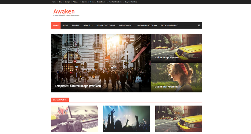 awaken free wordpress theme 2017