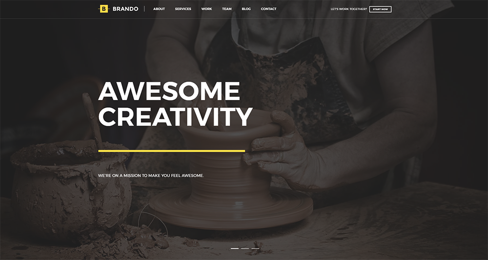 brando paid wordpress theme 2017