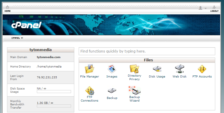 cpanel retro style how to