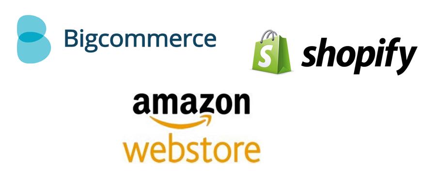 ecommerce website cost shopify bigcommerce