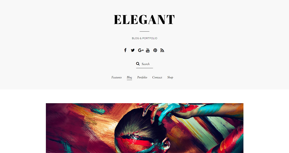 elegant wordpress theme 2017