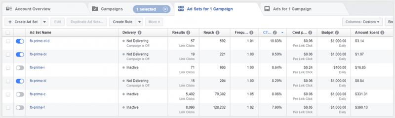 facebook ads online advertising