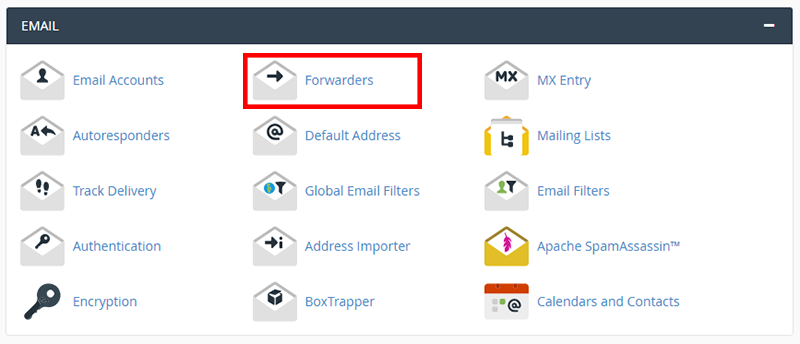 forwarding emails in cpanel how to