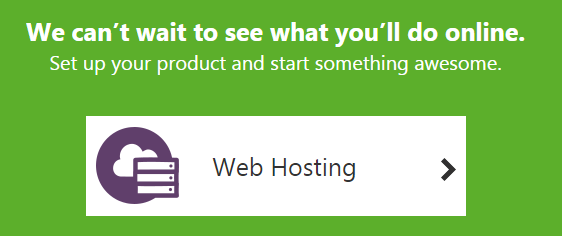 godaddy web hosting manage