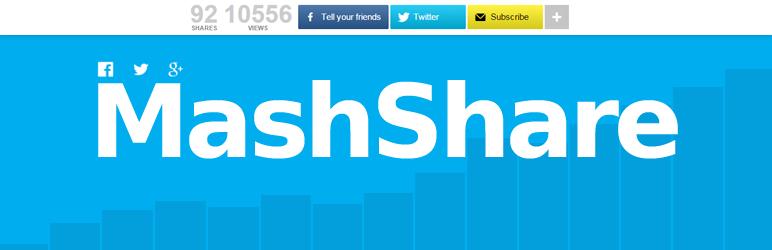 mashare social share plugin wordpress