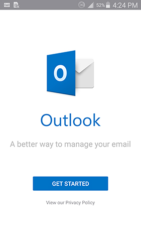 outlook get started