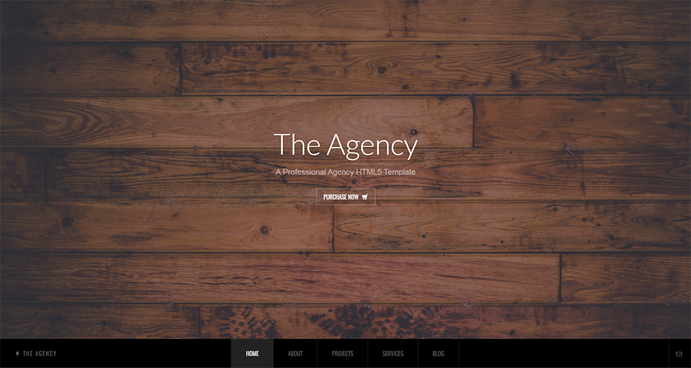 the agency wordpress theme 2017