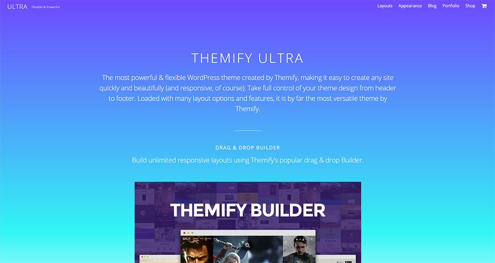 ultra free wordpress theme 2017