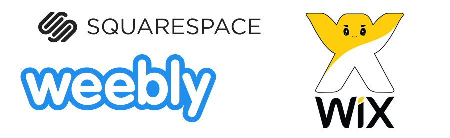 wix weebly squarespace website cost pricing